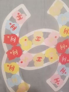 If you love this logo Chanel scarf you can buy it at www:eivey.ca