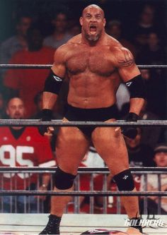 In a wrestling brief - Bill Goldberg is just a SpeedoBear WANNA-BE - And I'd tell him so, right to his face!
