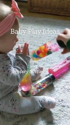 Baby Learning Activities, Infant Activities, Baby Sensory Play, Baby Play, Baby Kind, Baby Love, Baby Crafts, Baby Diy Toys, Newborn Baby Tips