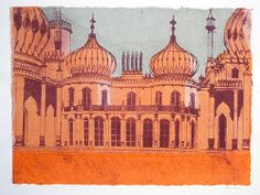 Robert Tavener, printmaker and illustrator » Royal Pavilion, Brighton Series