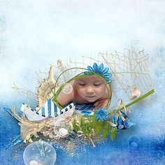 Pickleberrypop :: Kits & Mini Kits :: Blue sea page kit