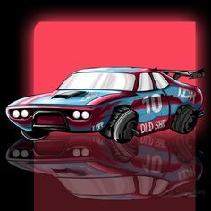 checkout the video  #illustration, #gaming, #needforspeed, #car