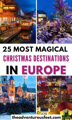 Best Christmas Vacations, Christmas Destinations, Christmas Markets Europe, Christmas Travel, Travel Destinations, Christmas Christmas, Xmas, European Vacation, European Travel