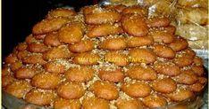 Greek Sweets, Greek Desserts, Desserts Menu, Greek Recipes, Greek Christmas, Christmas Sweets, Christmas Biscuits, Cooking Cake, Cookie Recipes