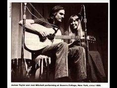 The Circle Game- Joni Mitchell & James Taylor - YouTube1970