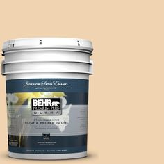 BEHR Premium Plus Ultra 5-gal. #M280-3 Champagne Wishes Satin Enamel Interior Paint