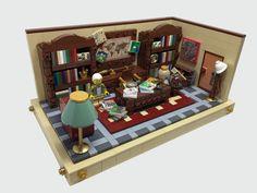 Professor Dick von Brick's office