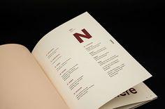 Magazine NOIR on Editorial Design Served