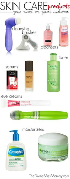 Skincare & Beauty Products You Need In Your Cabinet