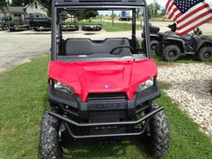 New 2017 Polaris Ranger® 500 ATVs For Sale in Wisconsin. Solar Red 58-inch width and excellent utility value Smooth and reliable 32-horsepower ProStar® EFI engine features best in class torque Plush suspension travel and refined cab comfort for 2 creates an excellent ride