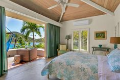 Hawaii Homes, Beach Homes, Beach House Bedroom, Home Bedroom, Beach House Pictures, Hawaii Beach, Hgtv, House Tours, Hawaiian