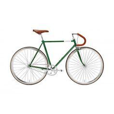 Vélo - Vinyl Doppi - Single-speed - singlespeed/fixed gear vert Fixed Gear, Bicycle, Vehicles, Dreams, Green, Bike, Bicycle Kick, Bicycles, Car