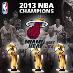The Miami Heat are the 2013 NBA Champions, defeating the San Antonio Spurs 95-88.