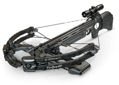 Barnett Ghost 400 Crossbow. An Epic Zombie killing crossbow. :D  http://chanofamerica.com/zombie-apocalypse-survival-weapons-and-equipment/