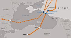 """The Greek """"White Knight"""" Emerges: Putin To Give Athens Billion For Advance Gas Pipeline Fees Sea Of Azov, Greece Today, Gas Pipeline, South Ossetia, Energy Resources, Moldova, Black Sea, Oil And Gas"""