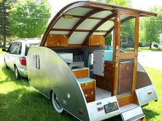 1949 Kamp Master Teardrop History of Manufacturer: Manufactured by King'S Trailer Company in Torrance, California. The Kamp Master is featured in Pg. 39 of Douglas Heister's Teardrops and Tiny...