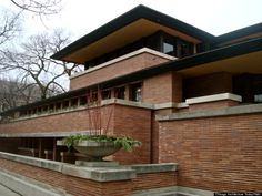 Robie House (Frank Llyod Wright) #Chicago #RealEstate #Architecture