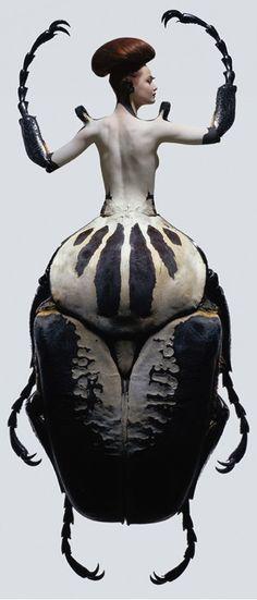 Sculpture Art, Sculptures, Man Beast, Crazy Outfits, Call Art, Anatomy Drawing, Portraits, Weird Fashion, Dark Photography