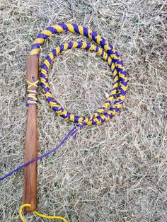 Cow Whip made by Daniel. We sell these in your choice of colors and patterns.
