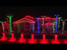 "El Paso ""Fred Loya"" Christmas Lights 2011 - Official Video"