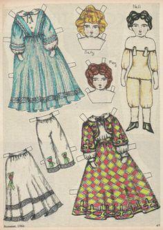 "Picture. Сайт ""19-й век. Бумажные куклы"""