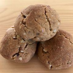 Hem hafif hem lezzetli, tahinli kurabiyeler :)