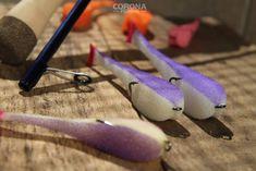 Sandaczowa paralonka z białym brzuszkiem - 6 kolorów do wyboru #wędkarstwo #przynęty #sandacz Fish, Corona, Pisces