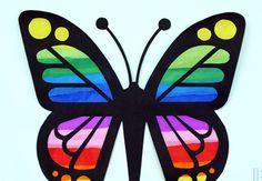 Eva Kağıdından Kelebek Yapımı
