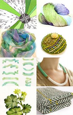 Spring colors by TuuliK on Etsy--Pinned with TreasuryPin.com