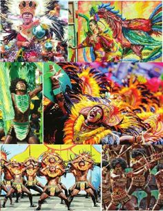 2016 Dinagyang Festival in Iloilo, Philippines