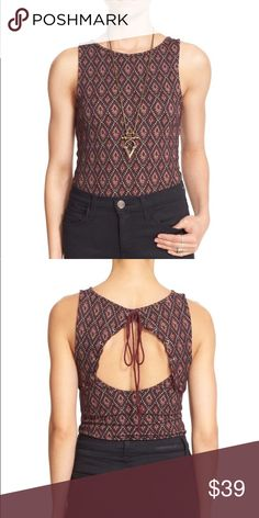 9c52851886844 🌼Free People Bright Side Keyhole Top New with tags Free People Bright Side  Top with