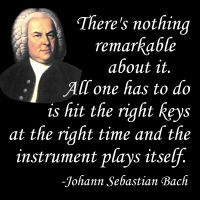 GearGems.com » Notable Quotables: J.S. Bach on Playing