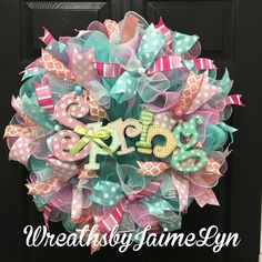 A personal favorite from my Etsy shop https://www.etsy.com/listing/508886414/spring-welcome-wreath-spring-wreath