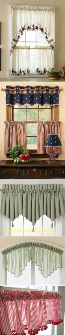 Кухонные занавески. Идеи