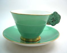 Royal Chelsea Chintz Tea Cup and Saucer Royal by AntiqueAndCrafts