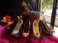 It is not a shoe shop, it is a chocolate shop