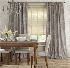 French Damask Curtains - Living room?