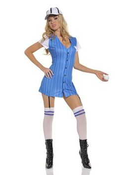 sexy baseball girl halloween costumes - Baseball Halloween Costume For Girls