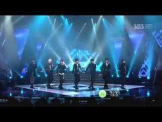 Infinite - hysterie + BTD (인피니트-히스테리 비티디)  20110109 sbs 인기가요 - Infinite live = <3