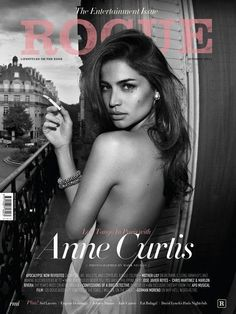 Anne Curtis on the cover of Rogue Magazine's Entertainment Issue (October 2011)