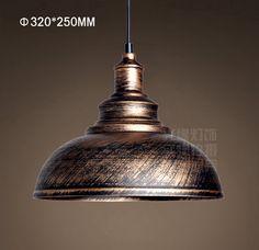 Одноместный головная лампа творческий ретро ресторан Джейн Европейский Американский Железный люстра из бронзы лестница промышленной нового д ...
