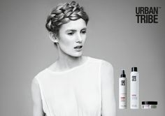 A romantic a trendy updo by Alain Pichon for UT. 06.5 sea water spray before drying then on dry hair 05.5 dry dust spray volumizing dust and 05.6 powder style matt volumizing powder for a matt effect.