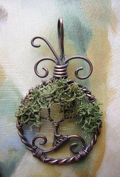 Moss by RachaelsWireGarden on deviantART
