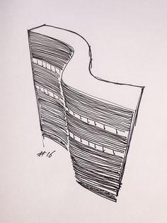 #16 Copan Building, 1954, by Oscar Niemeyer in São Paulo, Brazil