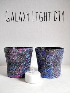 galaxy-light-jars-diy maybe for the pumpkin tea lights.