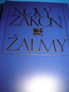 Large Print Czech New Testament / Novy Zakon - Zalmy / Cesky ekumenicky preklad / Ceska Biblica Spolecnost / 1997 Print