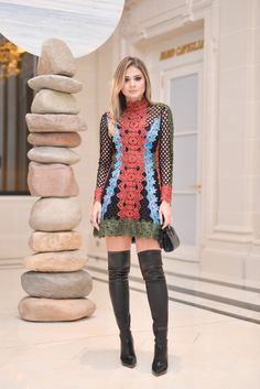 Over the knee boots look