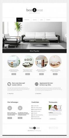 Minimal Website Design for Real Estate Agency - image Web Design Trends, Site Web Design, Best Website Design, Minimal Website Design, Web Design Tutorial, Real Estate Website Design, Web Design Websites, Best Interior Design Websites, Web Design Quotes