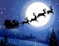 how to draw santas sleigh