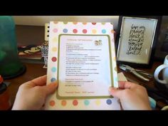 DIY Emily Ley Simplified Planner Inserts - YouTube